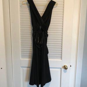 White House Black Market Dresses - Cross back formal dress